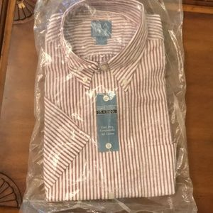 Jos. A Bank Large Short Sleeve Button Down Shirt